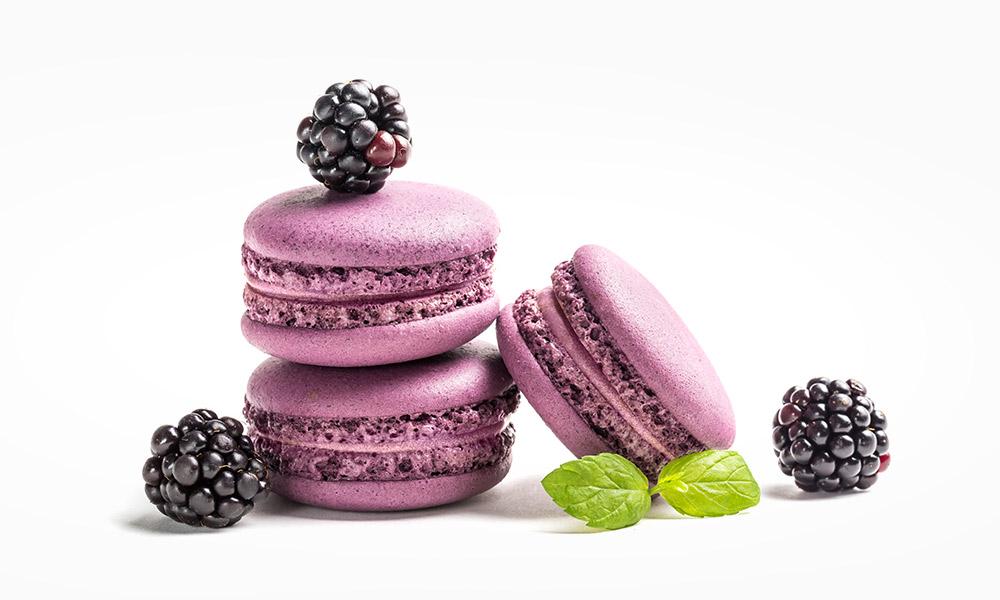 Macarons de moras Campoberry