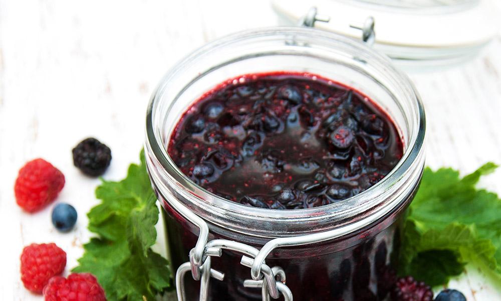Mermelada de frutos del bosque Campoberry