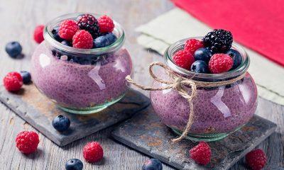 Pudding de chía y frutos del bosque Campoberry